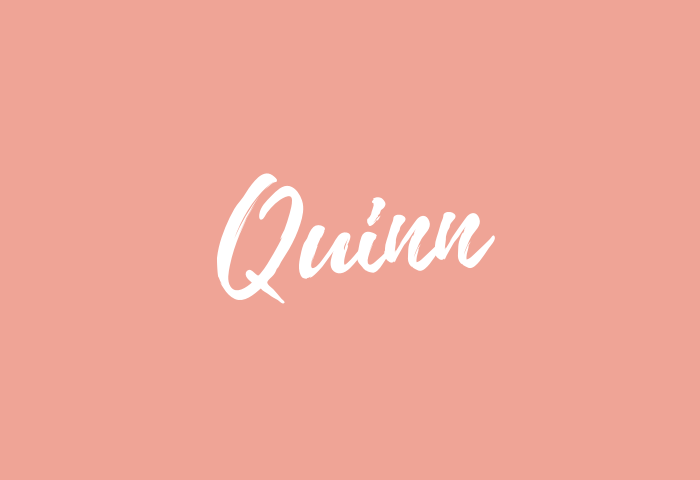 quinn name meaning