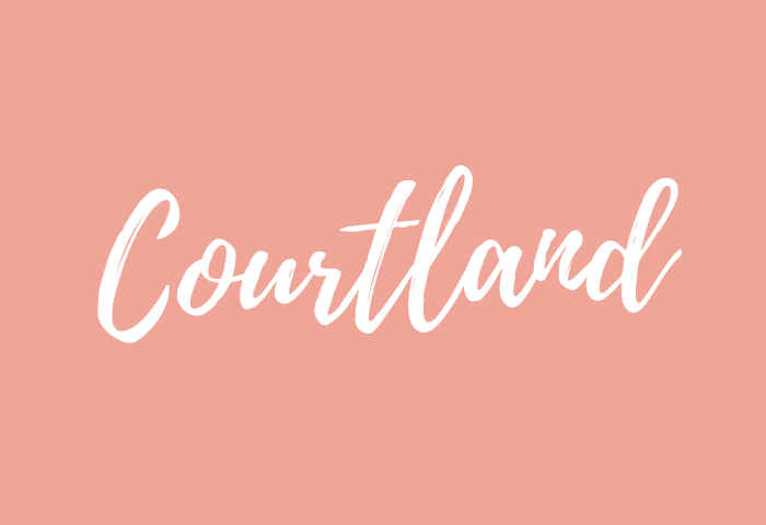 courtland name meaning
