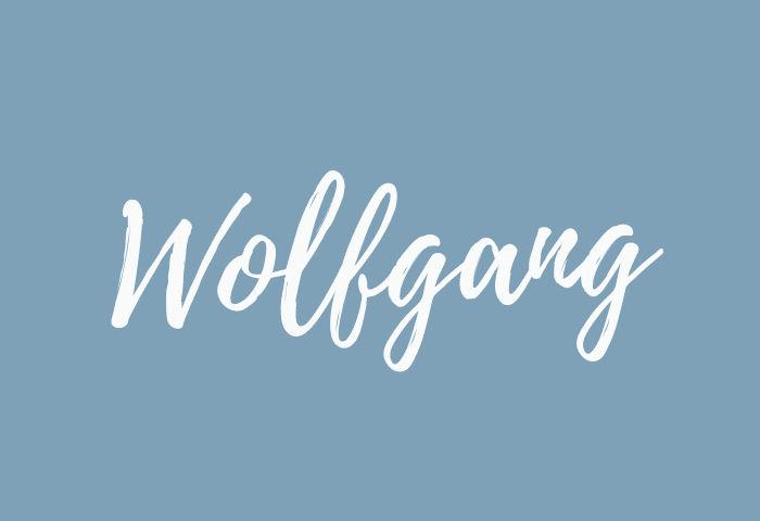 wolfgang name meaning