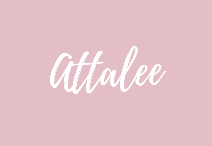 attalee name meaning
