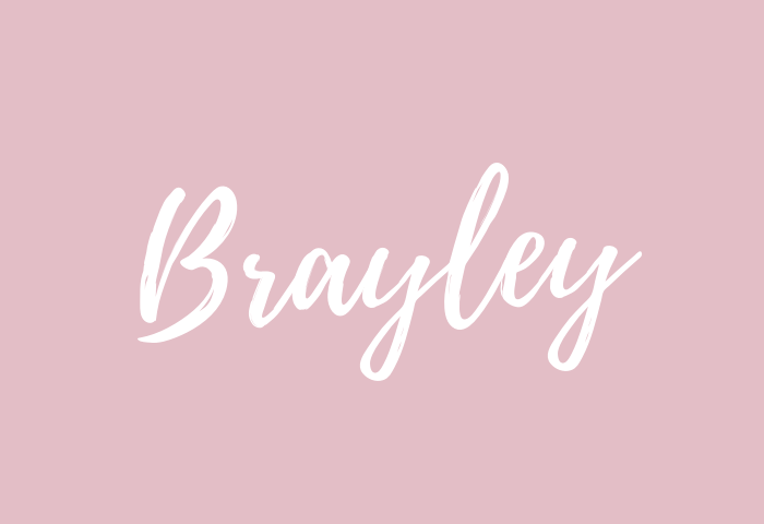 Brayley name meaning
