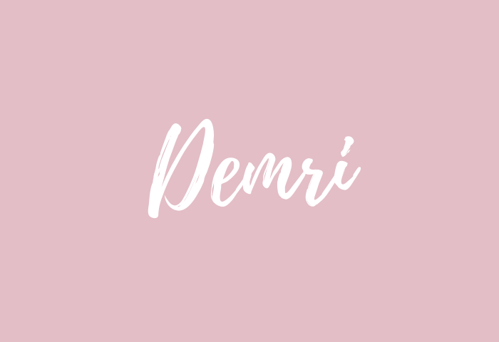 Demri name meaning