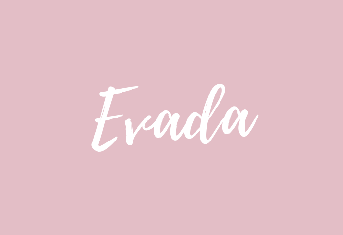Evada name meaning