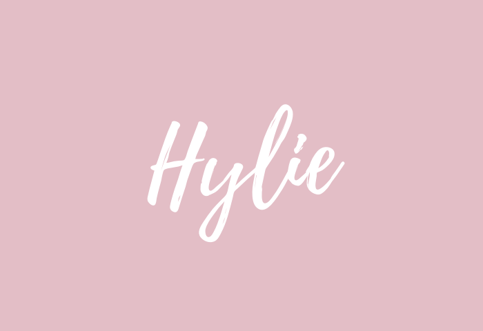 Hylie name meaning