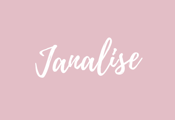 Janalise name meaning