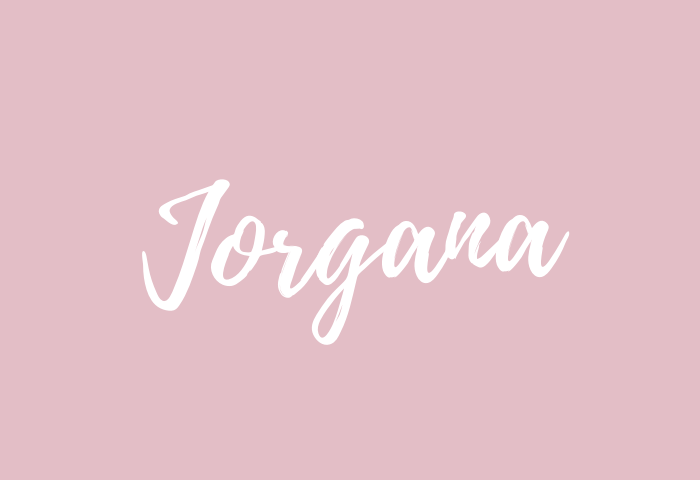 Jorgana name meaning