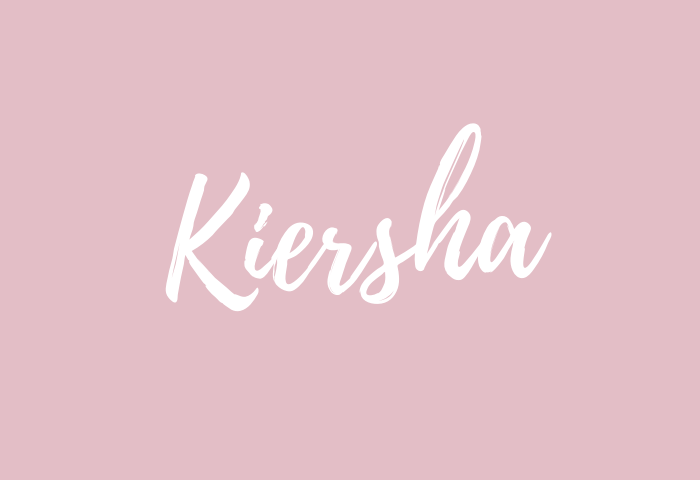 Kiersha name meaning