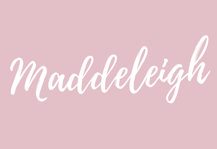 maddeleigh name meaning