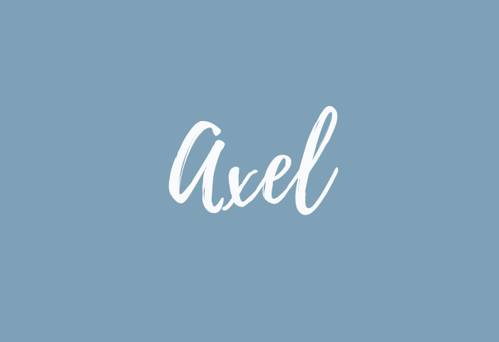 axel name meaning
