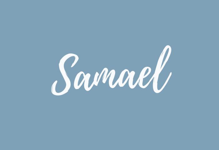 Samael name meaning