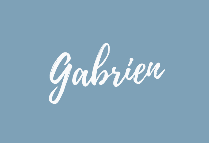 gabrien name meaning