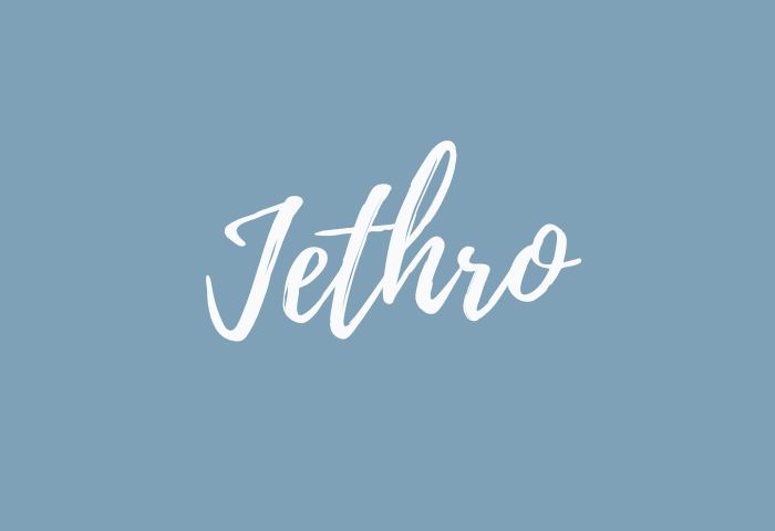 Jethro name meaning