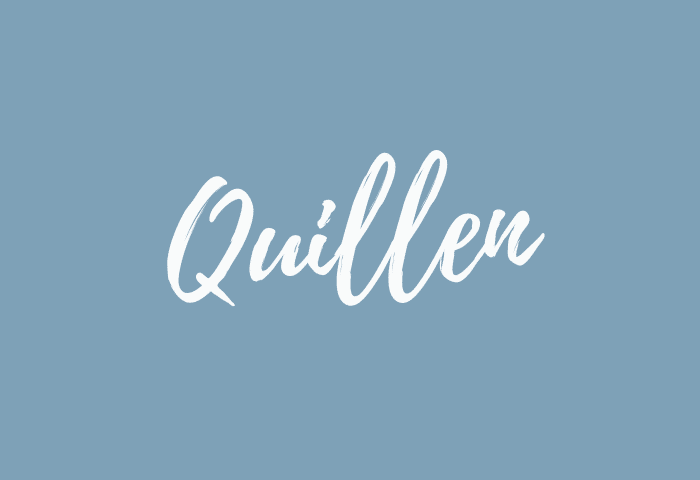 Quillen name meaning