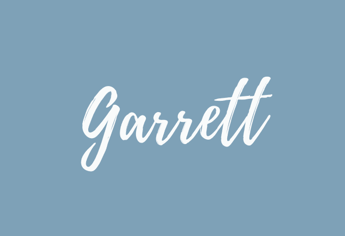 garrett name meaning
