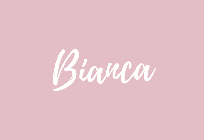 Bianca Name Meaning