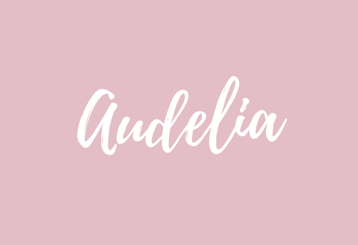 audelia name meaning