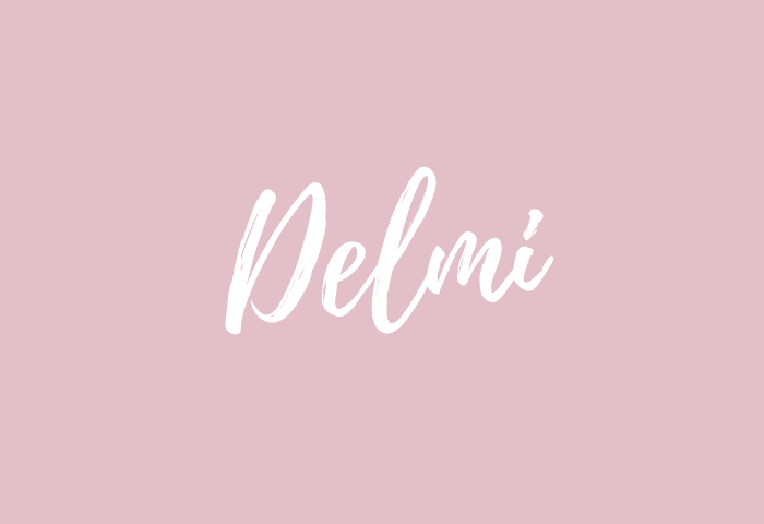 Delmi name meaning