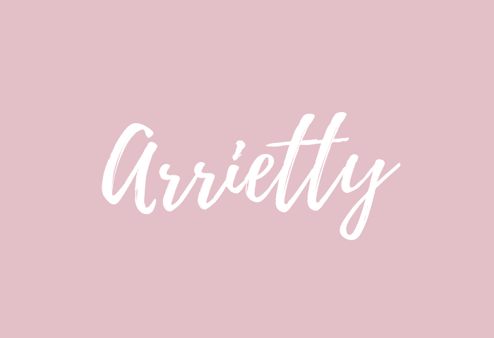 arrietty name meaning