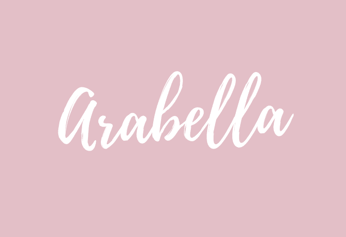 arabella name meaning