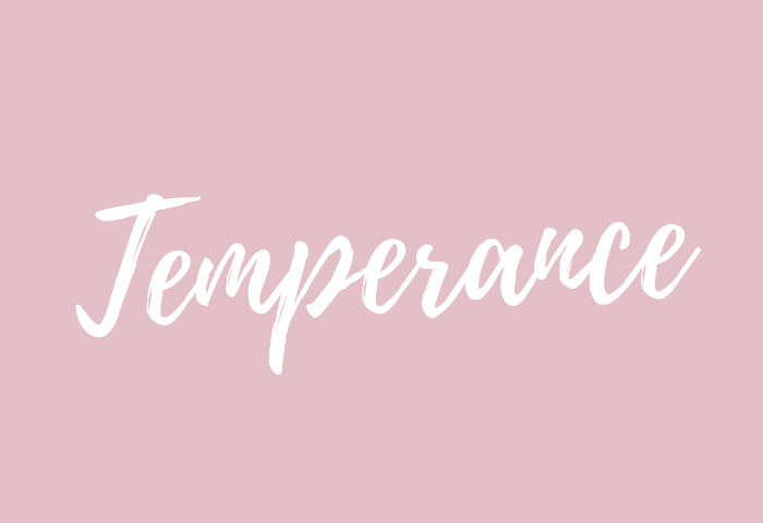 temperance name meaning