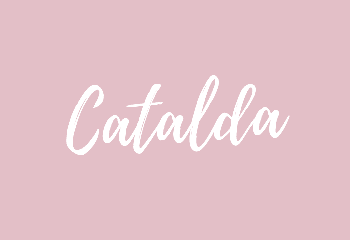 catalda name meaning