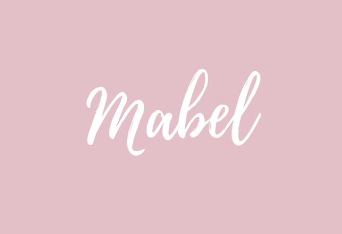 mabel name meaning