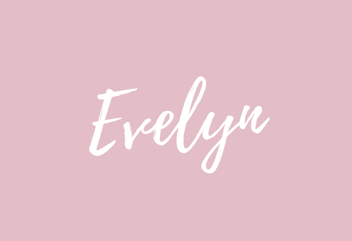 evelyn name meaning