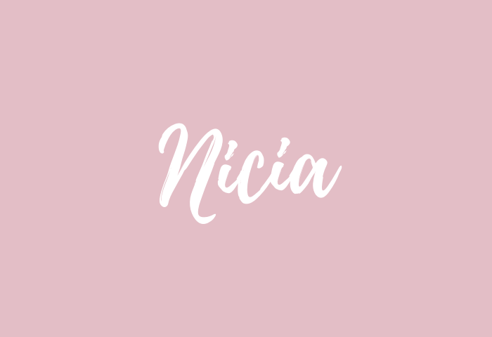 nicia name meaning