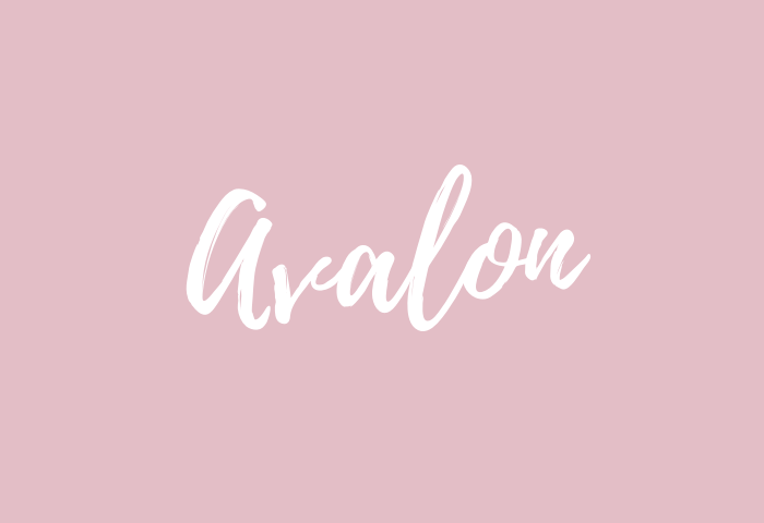 avalon name meaning