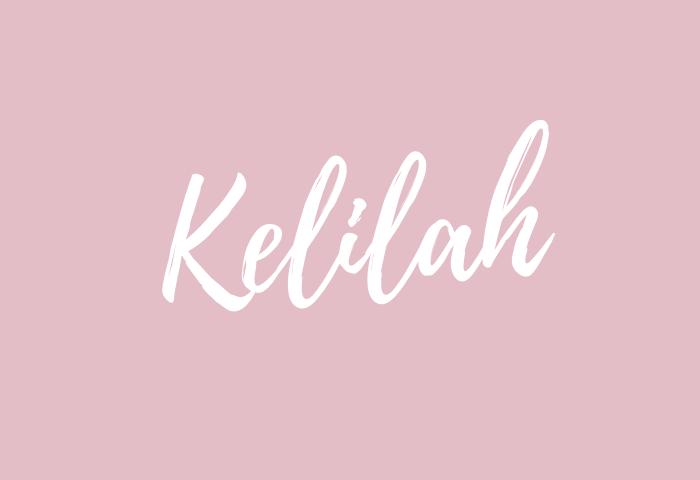 kelilah name meaning