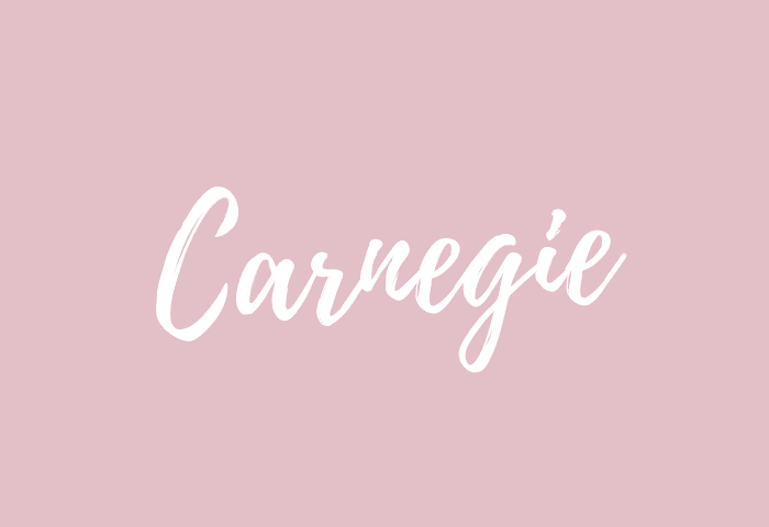Carnegie name meaning