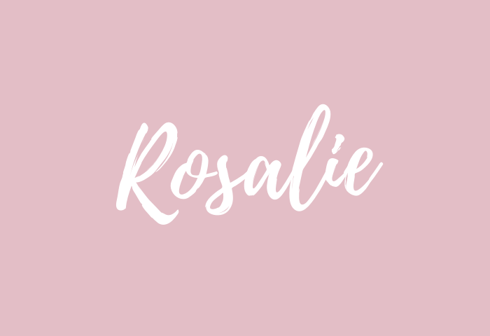 Rosalie Name Meaning