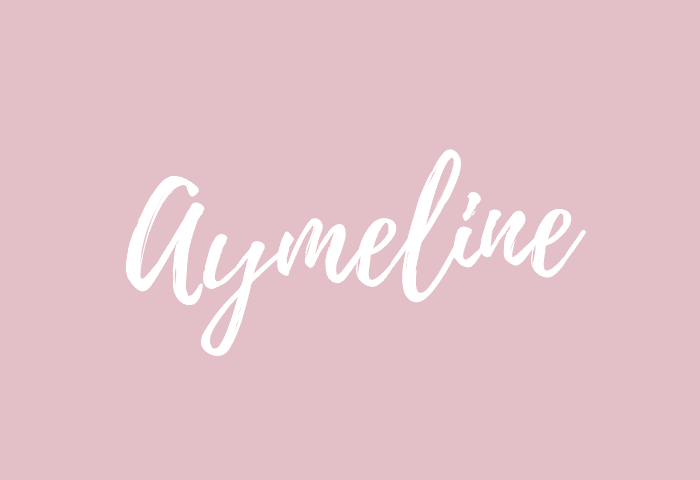 Aymeline name meaning