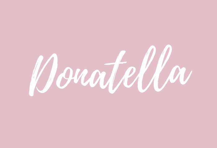 donatella name meaning