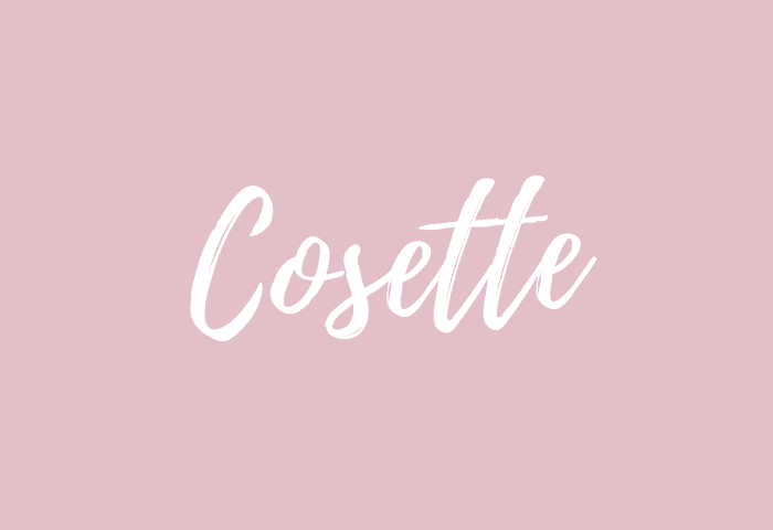 Cosette name meaning