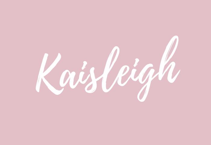 Kaisleigh name meaning