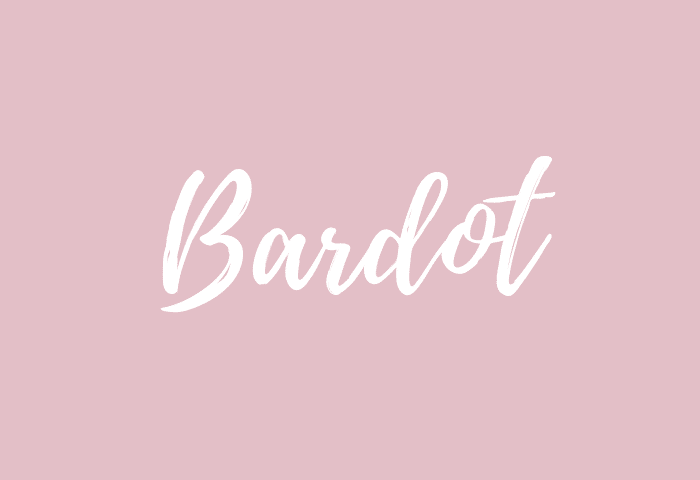 Bardot name meaning