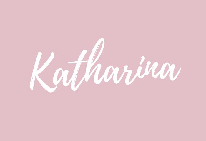 Katharina name meaning