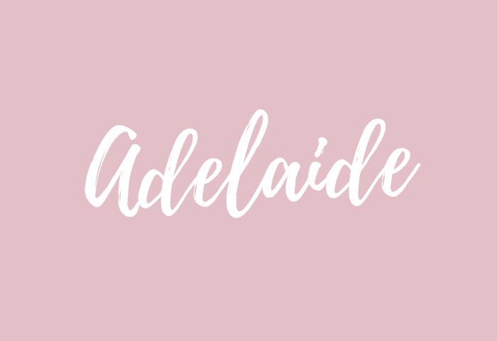 adelaide name meaning