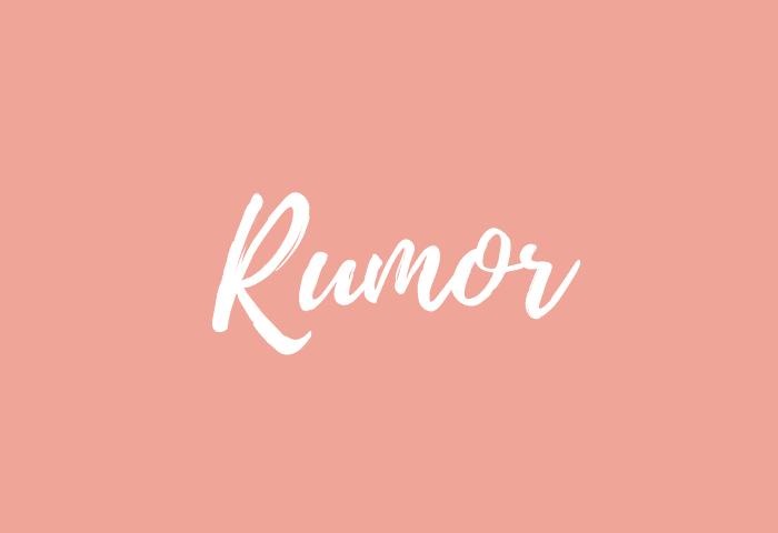 Rumor name meaning