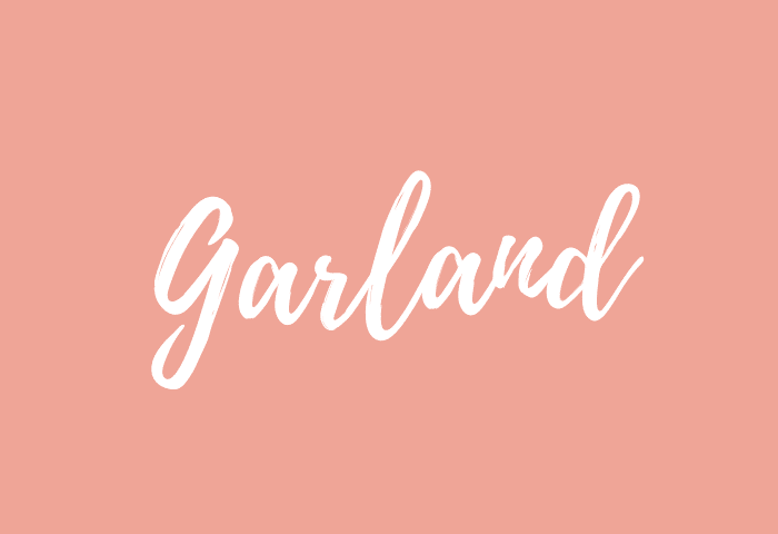 Garland name meaning