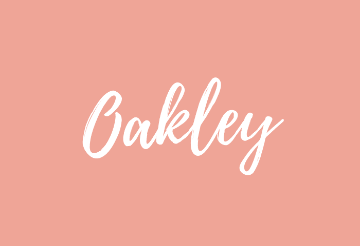 oakley name meaning