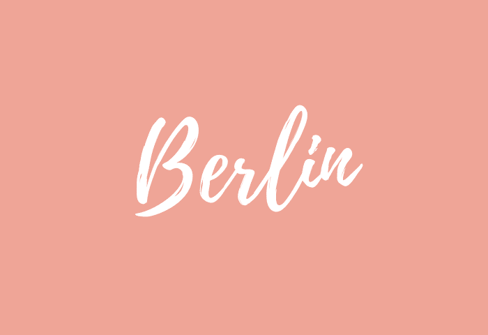 Berlin name meaning