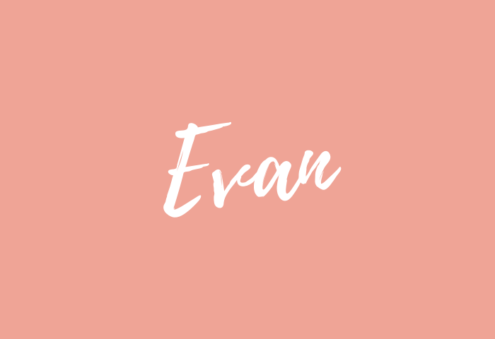 evan name meaning