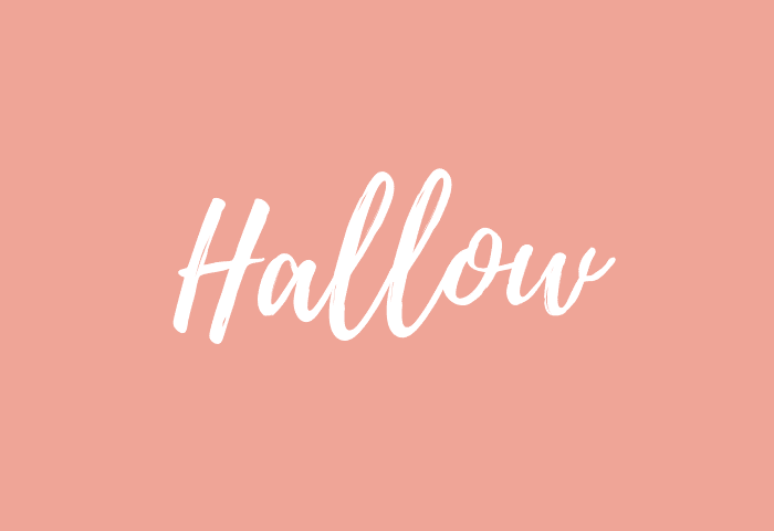 Hallow name meaning