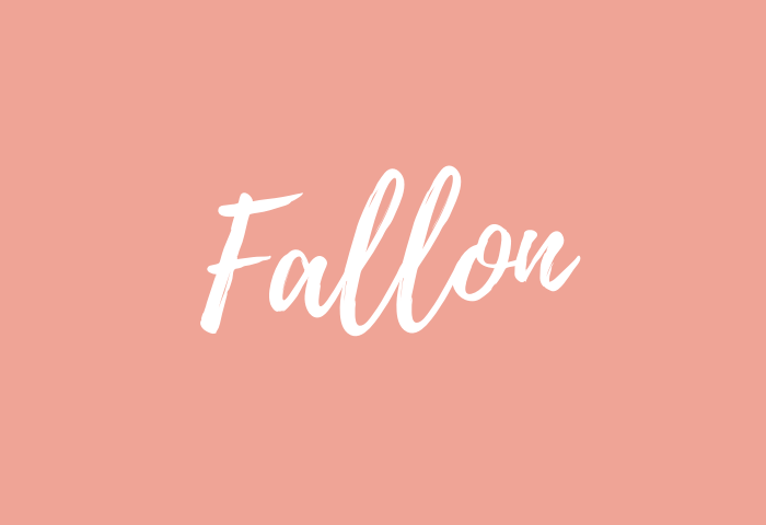 fallon name meaning