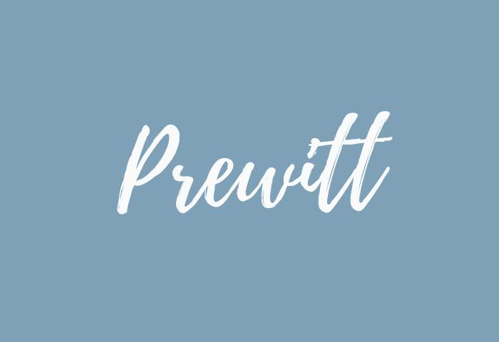 Prewitt name meaning