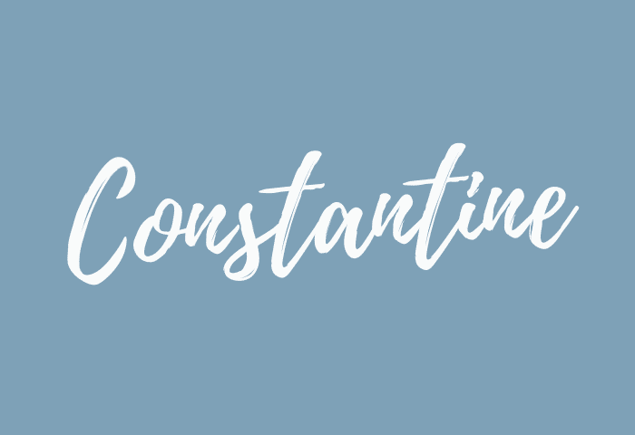 Constantine name meaning