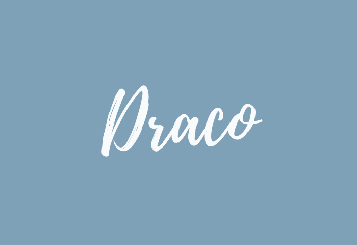 draco name meaning
