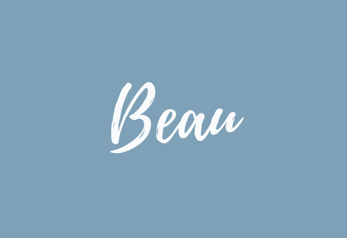 Beau name meaning